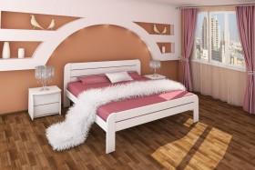 Деревянная кровать Ева
