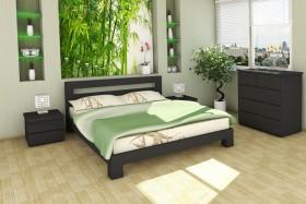 Деревянная кровать Гармония