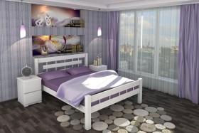 Деревянная кровать Македония