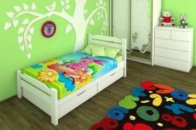 Деревянная кровать Марго детская