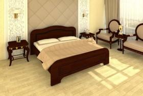 Деревянная кровать Милена