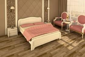 Деревянная кровать Милена ясень