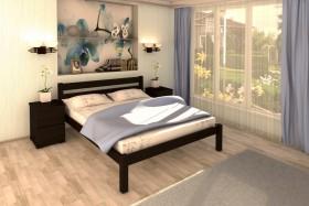 Деревянная кровать Виктория