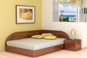 Кровать угловая Юта