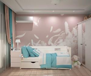 Деревянная кровать Даната